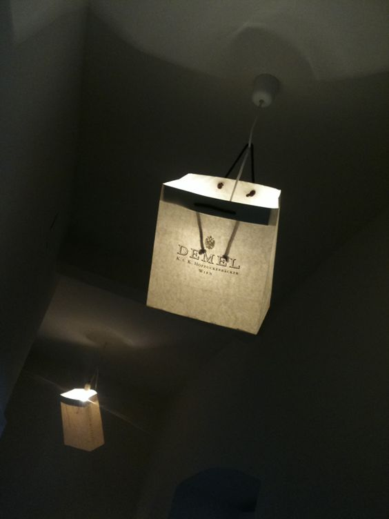 Day 61: Guest Post – Paper Bag Lampshade
