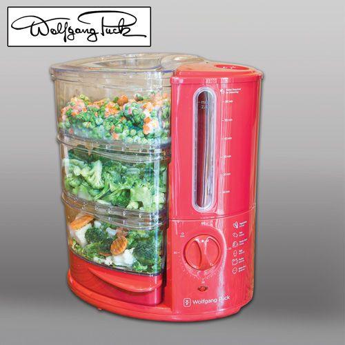 Wolfgang Puck 3 Tier Food SteamerModel#BERFS010