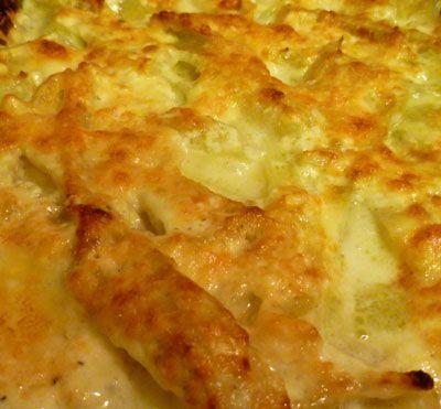 Finocchio al Forno (Fennel Baked in Cream)