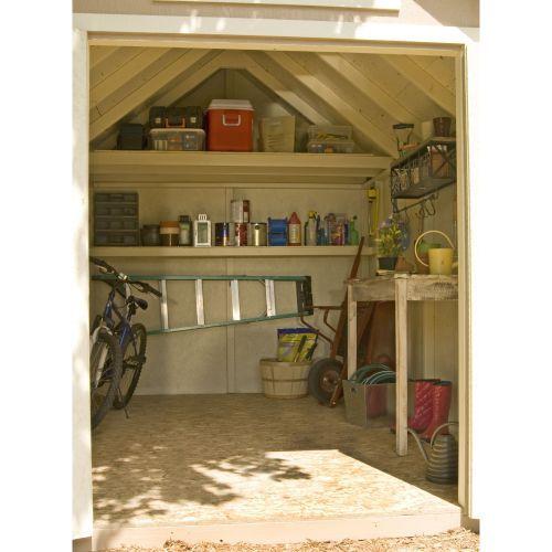 Everton 8' x 12' Wood Storage Shed
