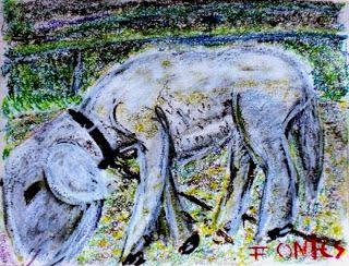 Arte Moderna e Contemporânea: Uma ovelha - CAFAP/ Quinta do Ribeiro, Lobão