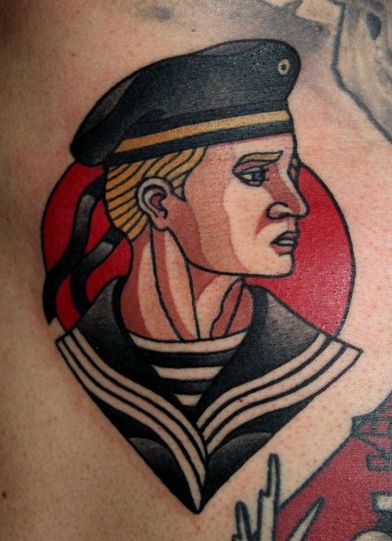 tattoos traditional sailor