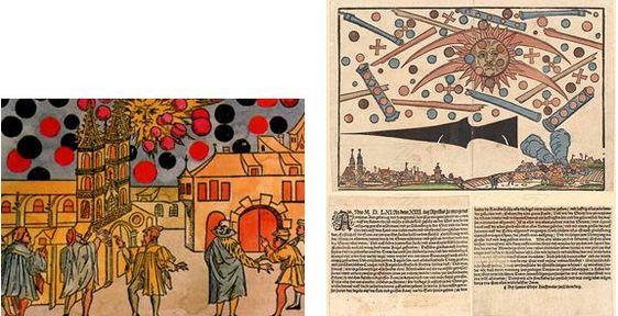 Afbeelding uit de krant van Nürnberg van 4 april 1561. - Google zoeken