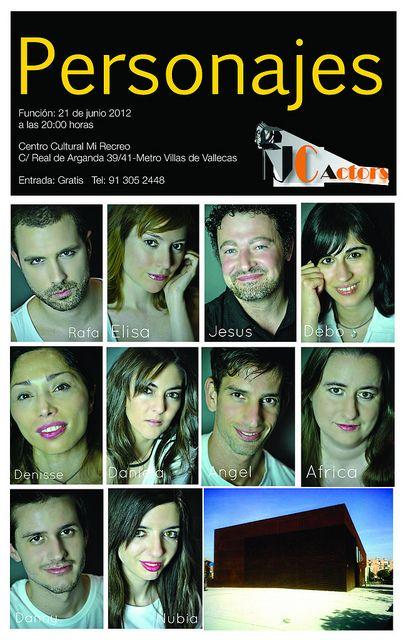 www.jcactors.es  Personajes-JC Actors Curso de técnica actoral by jc actors interpretacion para camara,teatro y tv, via Flickr
