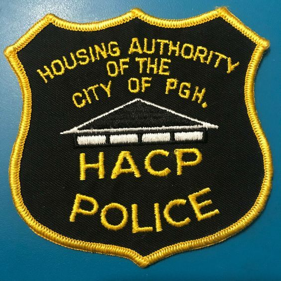 Us State Of Pennsylvania City Of Pittsburgh Housing Authority Police Department Patch Out Of Service