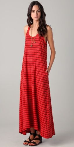Racer Cutout Maxi Dress...this looks so comfy!!