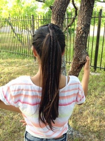 Beauty+by+Yahel:+HOTD+Fishtail+Accented+Ponytail
