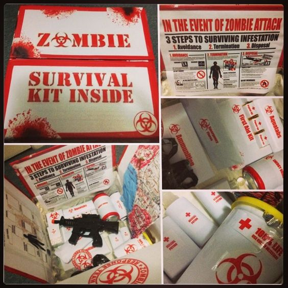 DIY Zombie Survival Kit | DIY Crafts | Pinterest ...