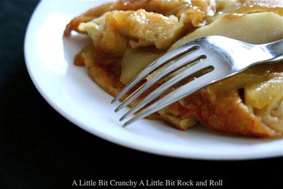 A Little Bit Crunchy A Little Bit Rock and Roll: Caramel Apple Pancake