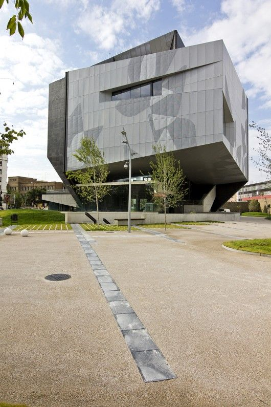 CaixaForum in Zaragoza by Estudio Carme Pinos