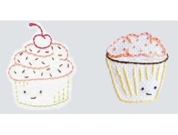 how to make face cloth cupcakes