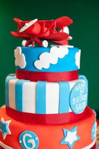 amazing airplane cake...minus bottom layer