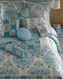Neiman Marcus  Dena Home Breeze    Love how fresh this looks!  My fave colours too!