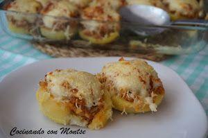 Patatas Rellenas De Carne Picada Y Queso Patatas Rellenas De Carne Patata Rellena Patatas