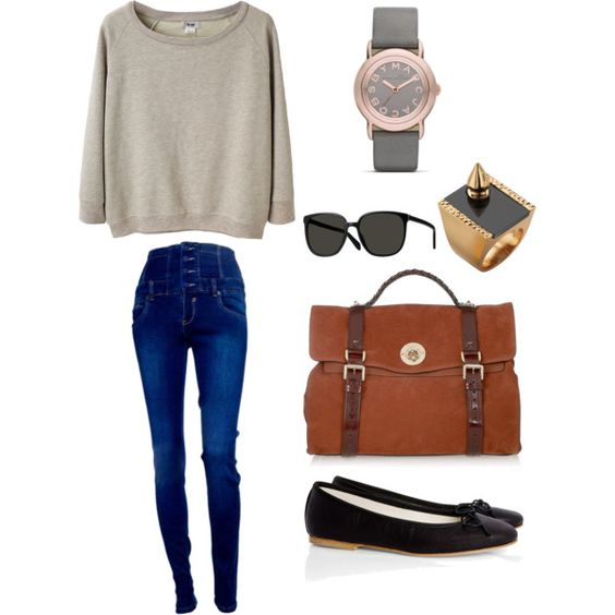 """Casual."" by electricallover on Polyvore"