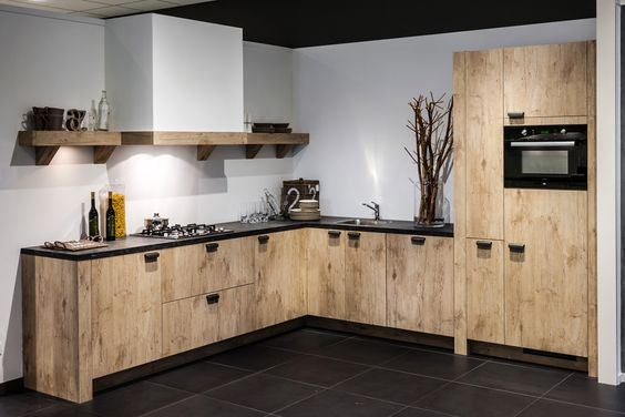 Pantry Keuken Te Koop : Landelijke hoekkeuken DB Keukens Hoekkeukens Pinterest