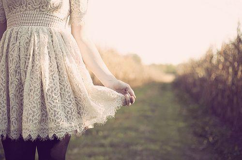 Lace dresses :)