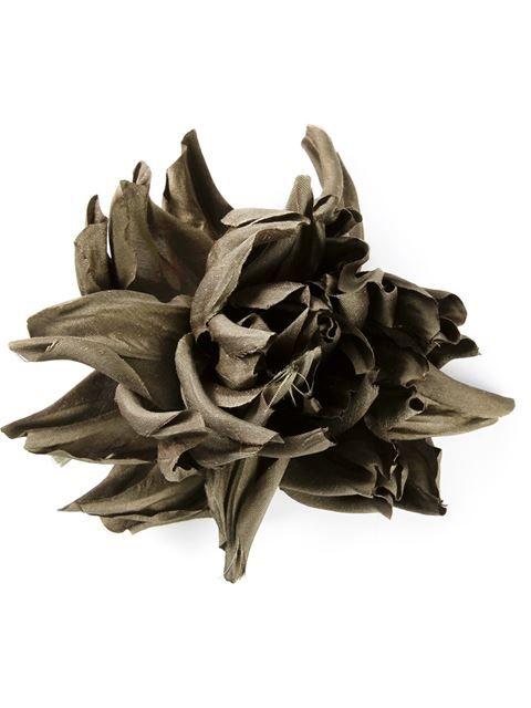 Erika Cavallini Semi Couture Flower Pin Broach - - Farfetch.com