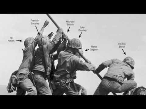 Correcting History Of Iconic Wwii Photo Of Us Marines Flag Raising On Iwo Jima Youtube Iwo Jima Wwii Photos Iwo Jima Flag