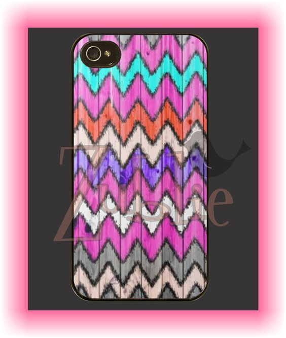 You can even add monograms to these products! Custom Aztec Chevron Phone Case by Zublie on Etsy, $10.00