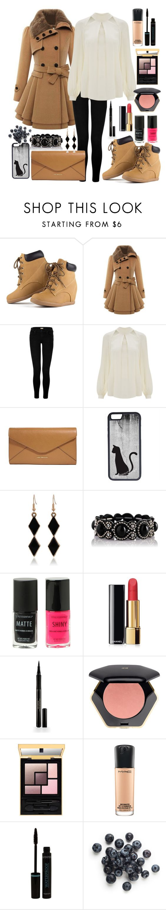 """""""winter"""" by naty2001 ❤ liked on Polyvore featuring True Religion, Temperley London, Vera Bradley, CellPowerCases, Chanel, Elizabeth Arden, H&M and MAC Cosmetics"""