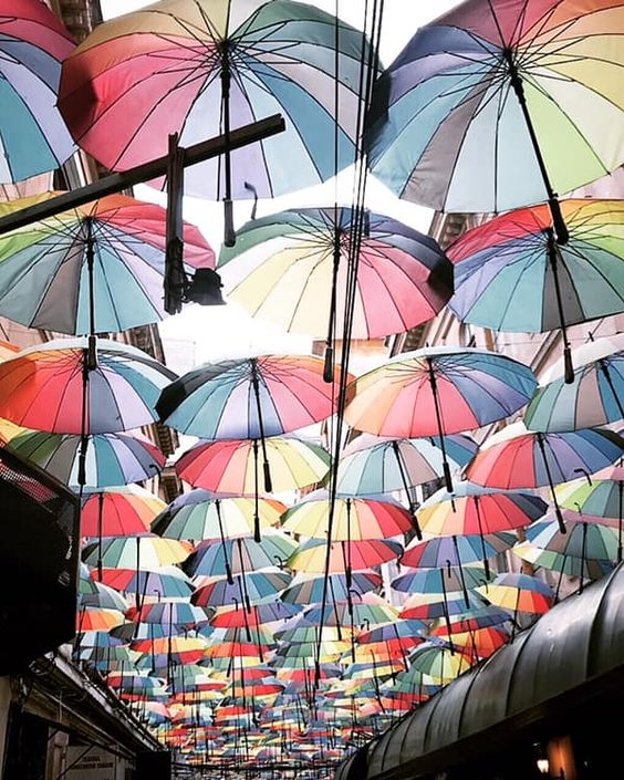 BUCAREST :: more-mode #rainbowumbrella