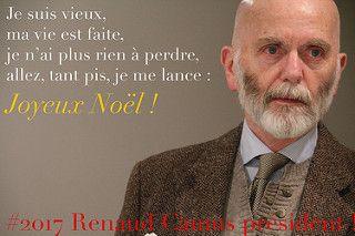 Je suis vieux, je n'ai plus rien à perdre, allez tant pis, je me lance : Joyeux Noël !   par Renaud Camus