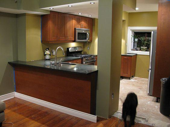 Valspar Countertop Paint : Green paint color: Short Grass Prairie (Valspar) green kitchen ...