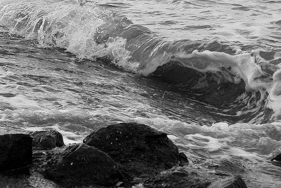 Herbstwind und Wellen