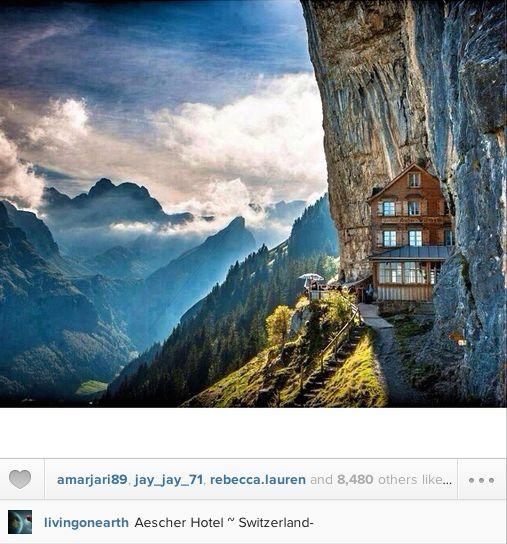 Switzerland alps hotel
