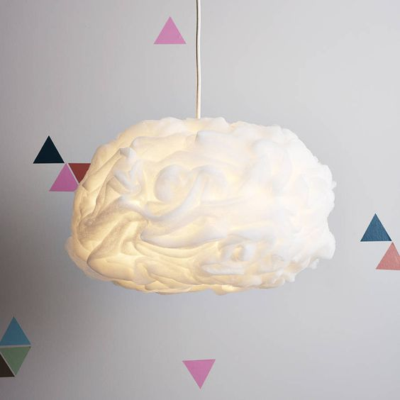 are you interested in our cloud pendant shade with our childs room you need look