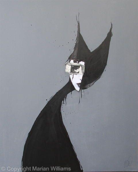 Black Cat 2 - Collage - Original