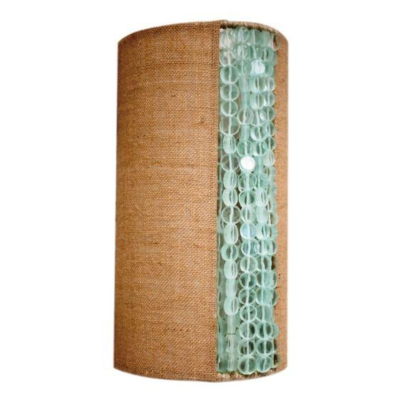 Ro Sham Beaux Rachel Coke Bottle Wall Sconce - great color combo