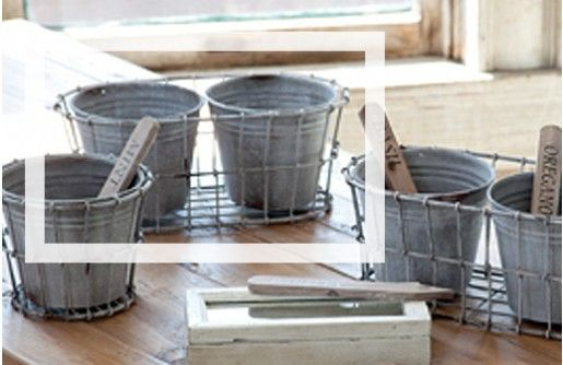 $17.50 Double Milk Crate Style Pots~Enjoy Today's Steal from DECOR STEALS www.decorsteals.com previously WUSLU