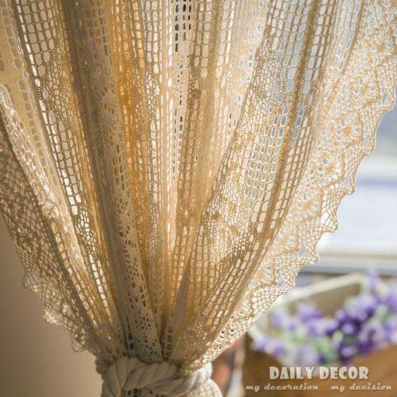 Curtains Ideas crochet curtain patterns valances : Vintage Crochet Curtain Patterns | Valances | Pinterest | Vintage ...