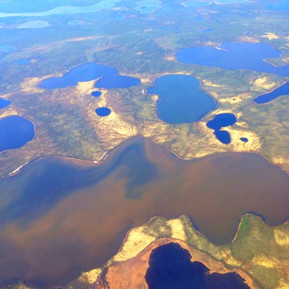 The Mackenzie Delta, NWT, Canada
