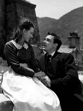 Maureen O'Hara and Walter Pidgeon - How Green Was My Valley