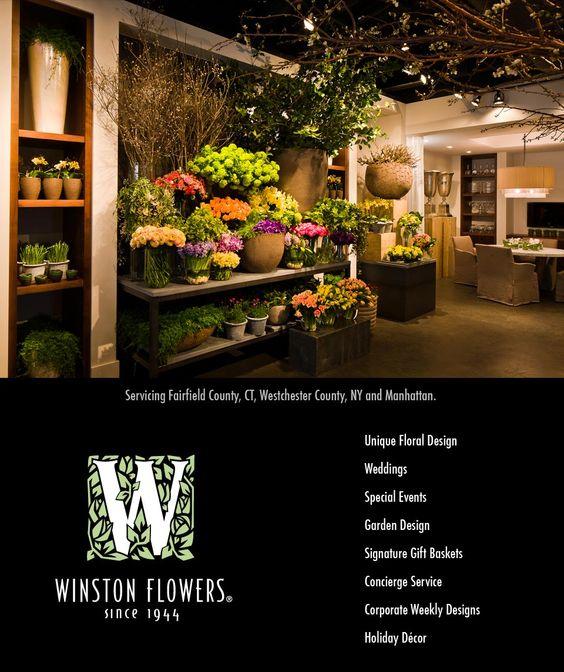 Winston Flowers Is Now Open In Greenwich!