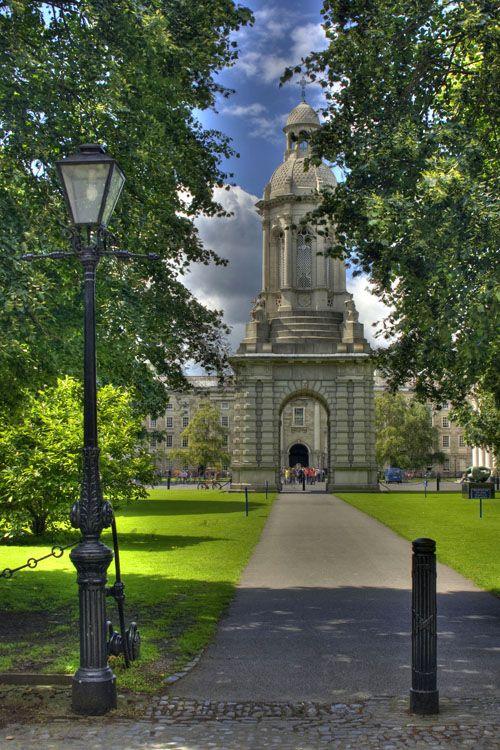 Courtyard of Trinity College, Dublin, Ireland Copyright: Andrzej Staszok