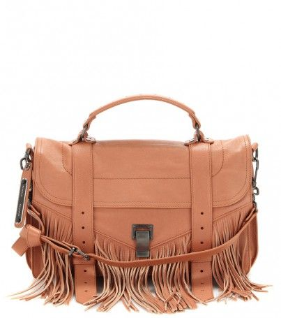 Ledertasche Ps1 Medium Fringe Lux