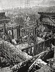 Apartment rooftop after the plane crash- November 8,1856