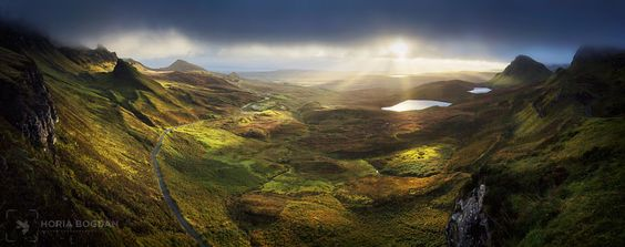 Quiraing morning by Horia Bogdan #xemtvhay