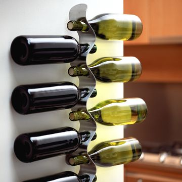 love this wine bottle rack