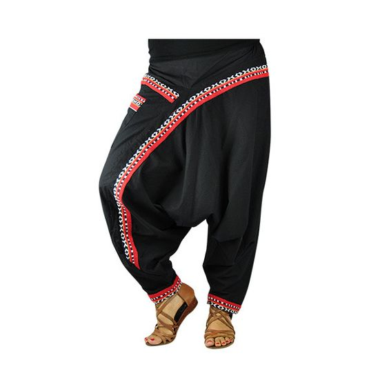 """Pantalones Harem - bonzaai harem pant """"Nepal"""" - hecho a mano por…"""