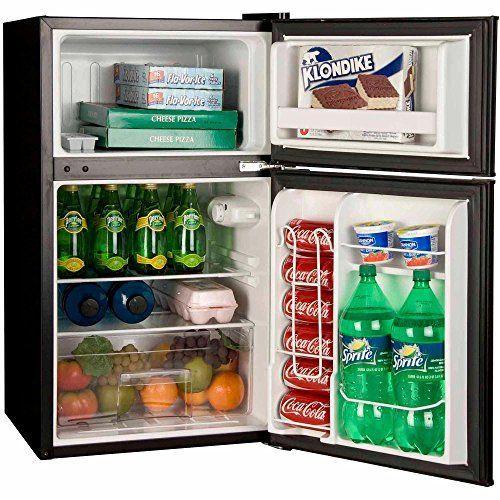 Sunbeam 1 7 Cu Ft Mini Refrigerator Black Refsb17b In 2020 Mini Fridges Compact Refrigerator Mini Fridge