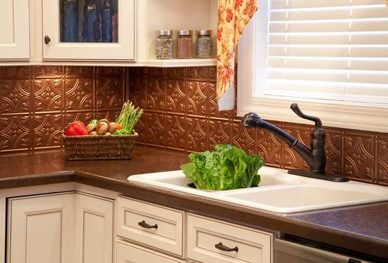 @ Mary! See this is what I was taking about. Love the idea of a copper back splash.