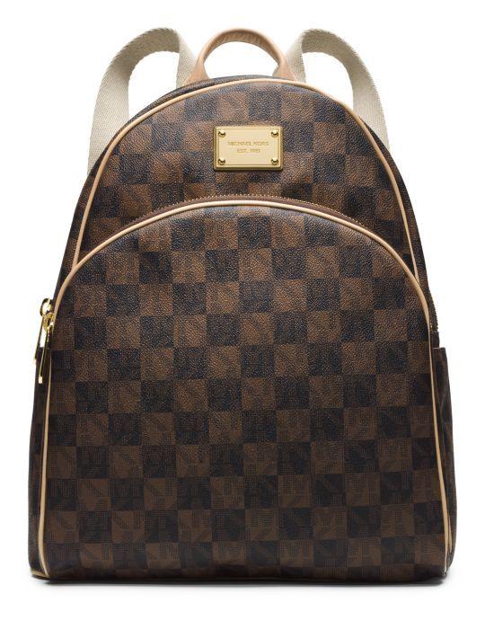 Jet Set Leather Large Backpack
