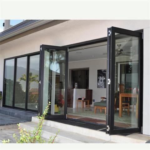 glass bifold sliding folding doors