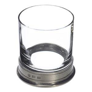 Match Pewter Rocks Glass, Crystal