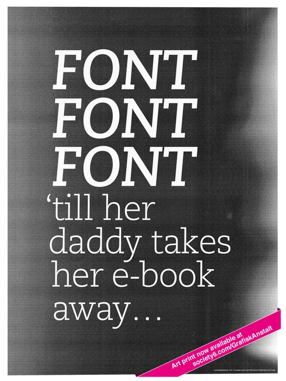Typo Posters on the Behance Network